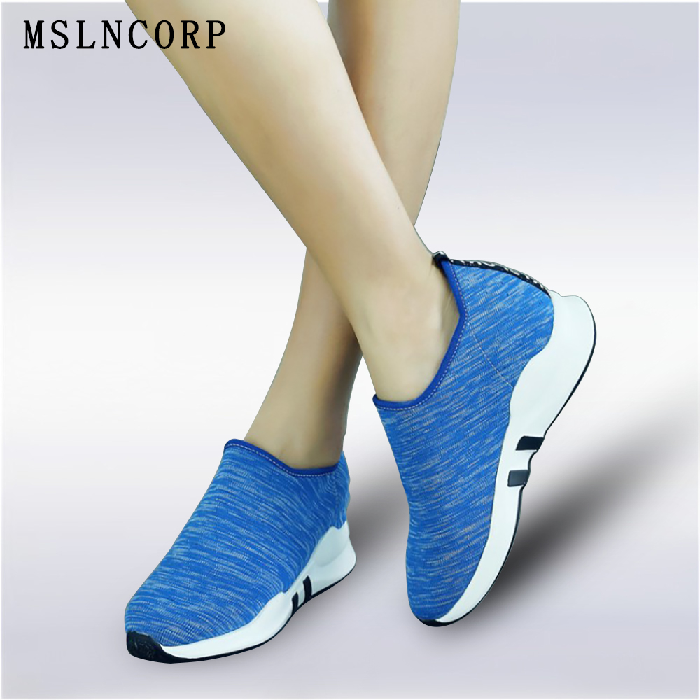 plus size 34-45 Women Casual Shoes Spring Summer Breathable Air Female tenis sneakers Platform Lightweight Height Increase Shoes mwy women breathable casual shoes new women s soft soles flat shoes fashion air mesh summer shoes female tenis feminino sneakers