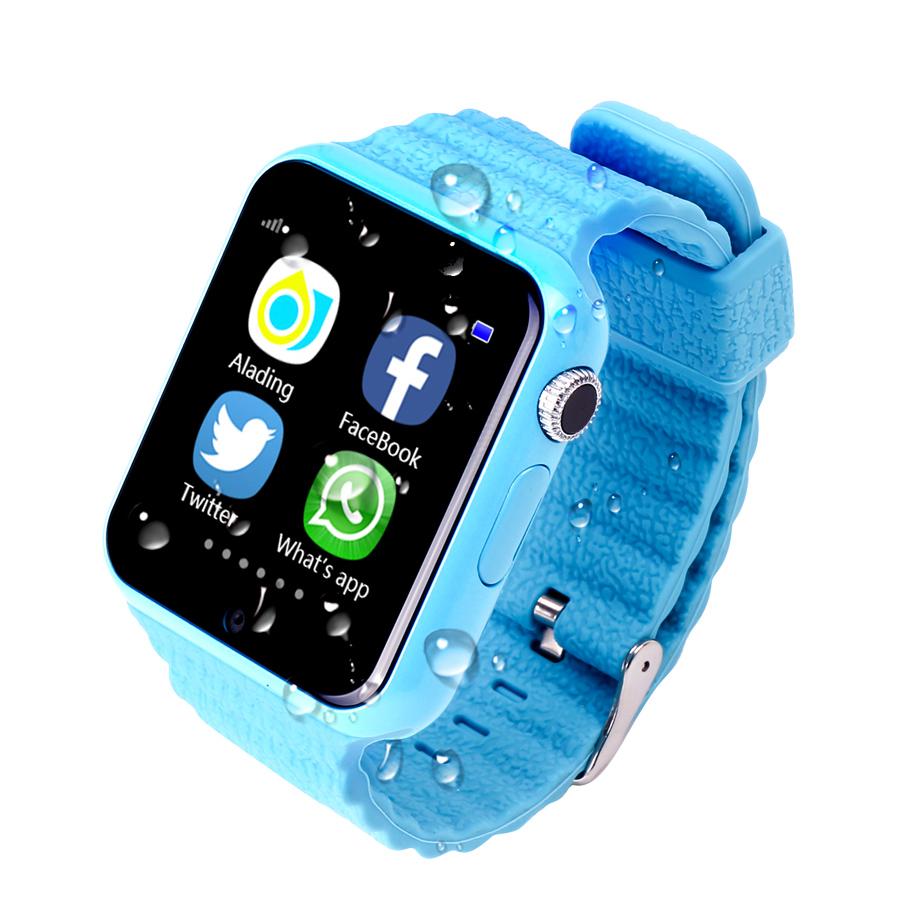 Prix pour Enfants Montre GPS Tracker 1.54 ''Avec Caméra Facebook Enfants SOS d'urgence pour iPhone Android PK Q90 Q750 Q50 Bébé Smart montre