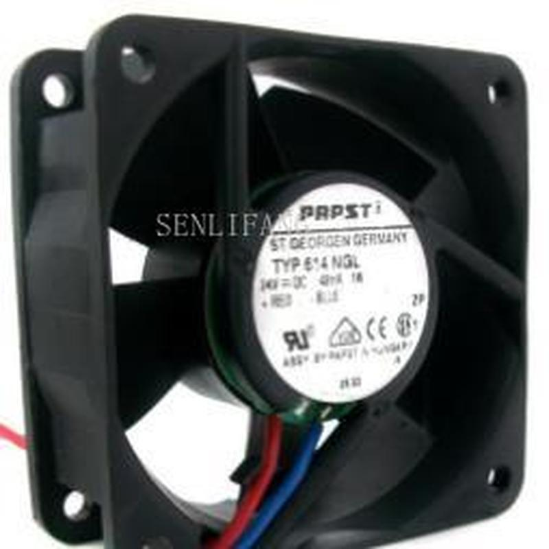 Original For EBM Papst TYP614NGL 60*60*25MM 24v 2.4w 6cm Inverter Cooling Fan