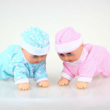 Funny Electric Crawling Music Baby Doll Crawl Learning Cute Toys Educational Speaking Dolls Birthday