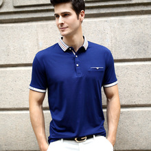 Summer New Arrive Male Short Sleeve Business POLO Shirts  Men's Fashion clothes