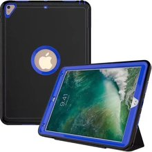 For iPad 234 Armor Shockproof Heavy Duty TPU+PC Hard Case Sleep Wake Up function Cover