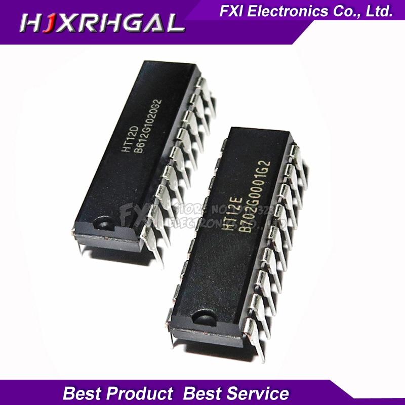 5PAIR 5PCS HT12D And 5PCS HT12E DIP20 . HT-12D+HT-12E Original