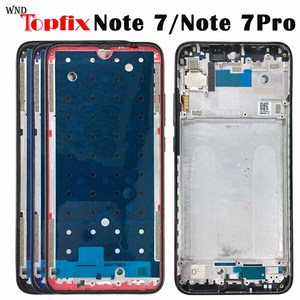 NEW Original Xiaomi Redmi Note 7 Middle Frame Plate Housing Bezel Faceplate Bezel LCD Supporting Front Frame Repair Spare Parts