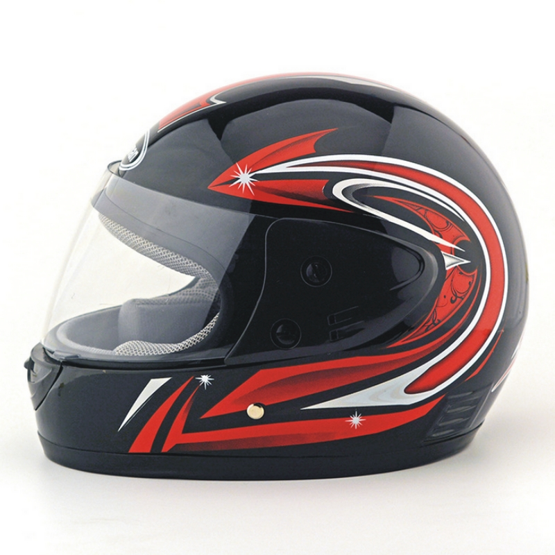 Free shipping full face motorcycle helmet electric vehicle Rally Racing safety winter he ...