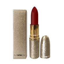 Top Quality Makeup Metal Matte red Lipsticks Nutritious Lips