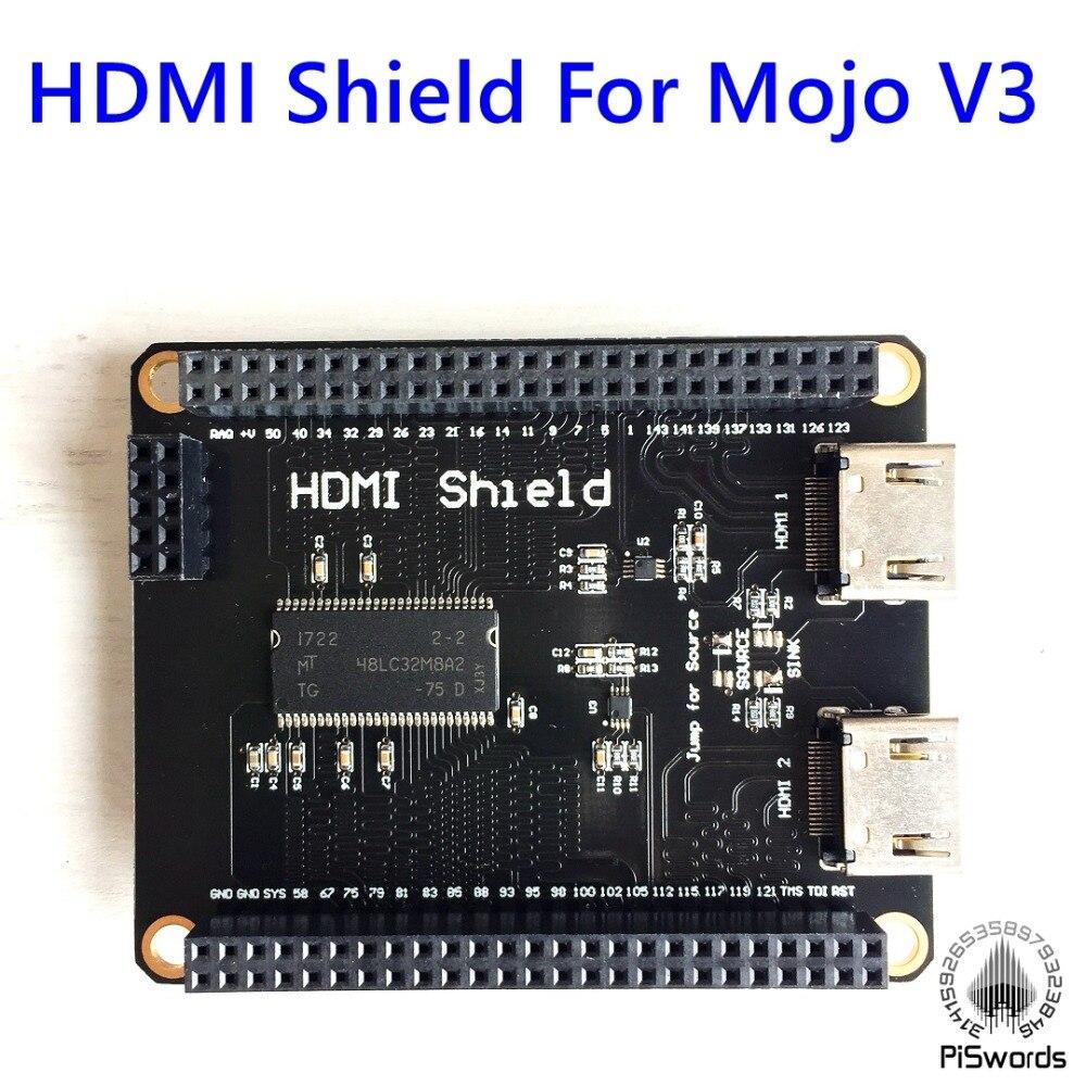 Module mémoire HDMI Shield Mojo V3 FPGA Spartan6 XC6SLX 32 mo SDRAM-in Carte de démonstration from Ordinateur et bureautique on AliExpress - 11.11_Double 11_Singles' Day 1