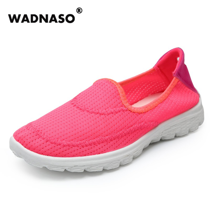 2017 Women's Fashion Air Mesh Shoes Casual Flats Breathable Soft Lazy's shoes Net Cloth Size 35-44 Slip-on For Summer girl flats 2017 kids summer shoes new air mesh for children holes candy color slip on unisex breathable running fashion sport cool sneakers