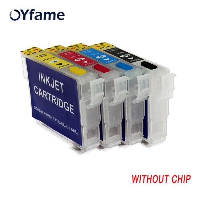 OYfame T2971T2962 T2963 T2964 Refillable דיו מחסנית עבור Epson XP231 XP431 XP241 XP-431 XP-231 XP-241 ללא שבב