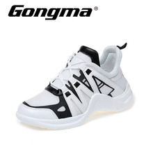 Gongma Medium Cut Women Running Shoes Sneakers Cool Light Breathable Breathable Vamp Shoes Shoes Height Increase Walking Shoe 110
