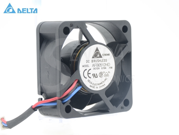 Originale Delta AFB0512HD-F00 12 V 0.15A 5020 doppio cuscinetto a sfera ventola di raffreddamento 50*50*20mm 3-pin