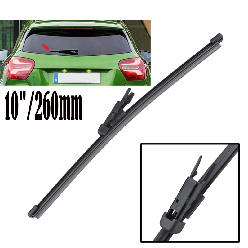Misima 10 250mm rear window windshield windscreen wiper for Mercedes benz windshield wipers replacement