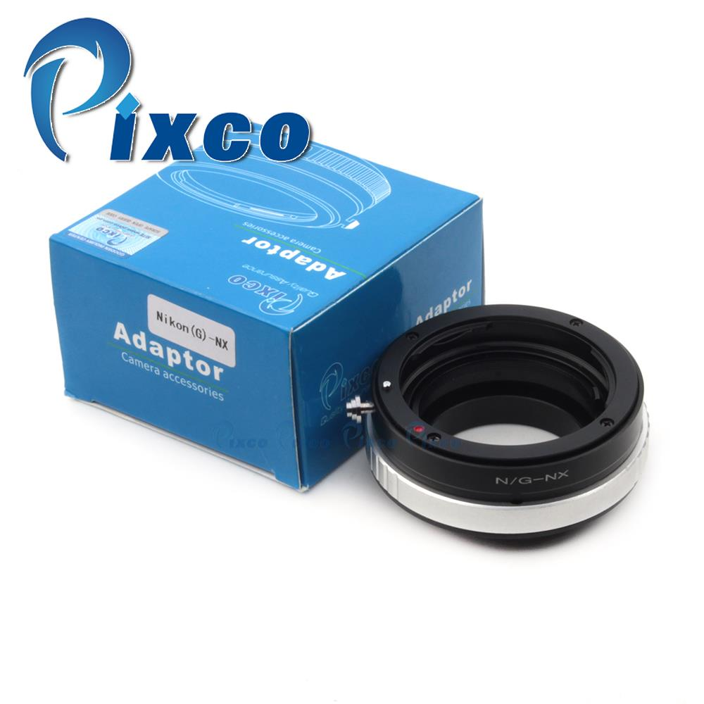 Pixco Lens Mount Adapter Ring Suit For /nikon F Mount G Lens to Sam sung NX  NX1100 NX300M NX2000 NX300 NX210 NX20 NX5