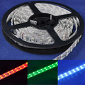 5M 600 Leds 5050 RGB Double Row LED Strip SMD 120LED/M Light Waterproof 12V 16FT Free shipping