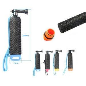 Image 3 - Galleggiante Hand Grip Galleggiabilità Rod Pole Stick Monopiede Treppiede per Gopro Go Pro Hero 8 7 6 5 4 3 xiaomi Xiomi Yi 2 4 K 4 K Macchina Fotografica di Azione