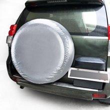 Автомобильный Автомобильный запасной чехол для шин сверхмощный Водонепроницаемый Колесный Эластичный Защитный чехол пылезащитный колпачок для велосипедного клапана сумка для внедорожника