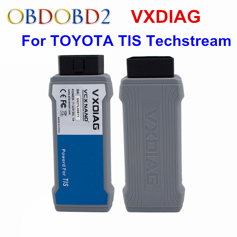 VXDIAG VCX NANO For TOYOTA TIS Techstream V10.30.029 Compatible SAE J2534 VXDIAG For TOYOTA Techstream OBD2 Diagnostic Scan Tool vxdiag vcx nano for gm opel gds2 and tis2web diagnostic tool usb version programming system for gm better than mdi free shipping