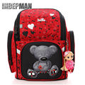 2016New Winx School Bag Orthopedic Kindergarten School Bags for Girls Boys Waterproof Cartoon Mochila Escolar Infantil Schoolbag
