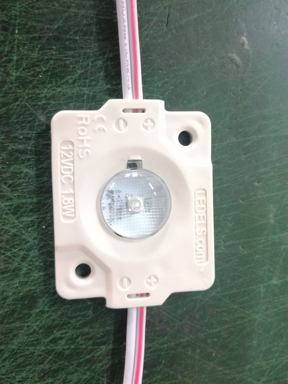 LED 12v 1.8watt 200 lm led module backlights for sign boxes 175 degrees beam angle with even illumination 5 year warranty ip65