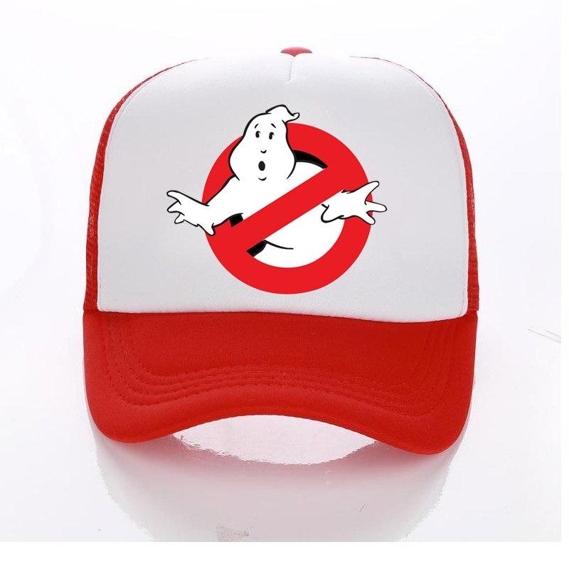 Женская Кепка Для Взрослых/детей, Кепка-тракер, летние сетчатые солнцезащитные шляпы, призраки, Busters, бейсбольная кепка для всей семьи, детей...