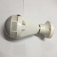 ir led FY-Q2 Panoramic 360 VR 960P 1.3MP HD IP Mini Camera Smart LED Lights Cam Starlight IR Night Vision Bulb Home Security Camera (2)