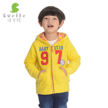 Svelte Brand Spring Autumn and Winter Kids Fur Coats Boys Hooded Jackets Fashion Fleece Outerwear Coat Enfant Children Clothes