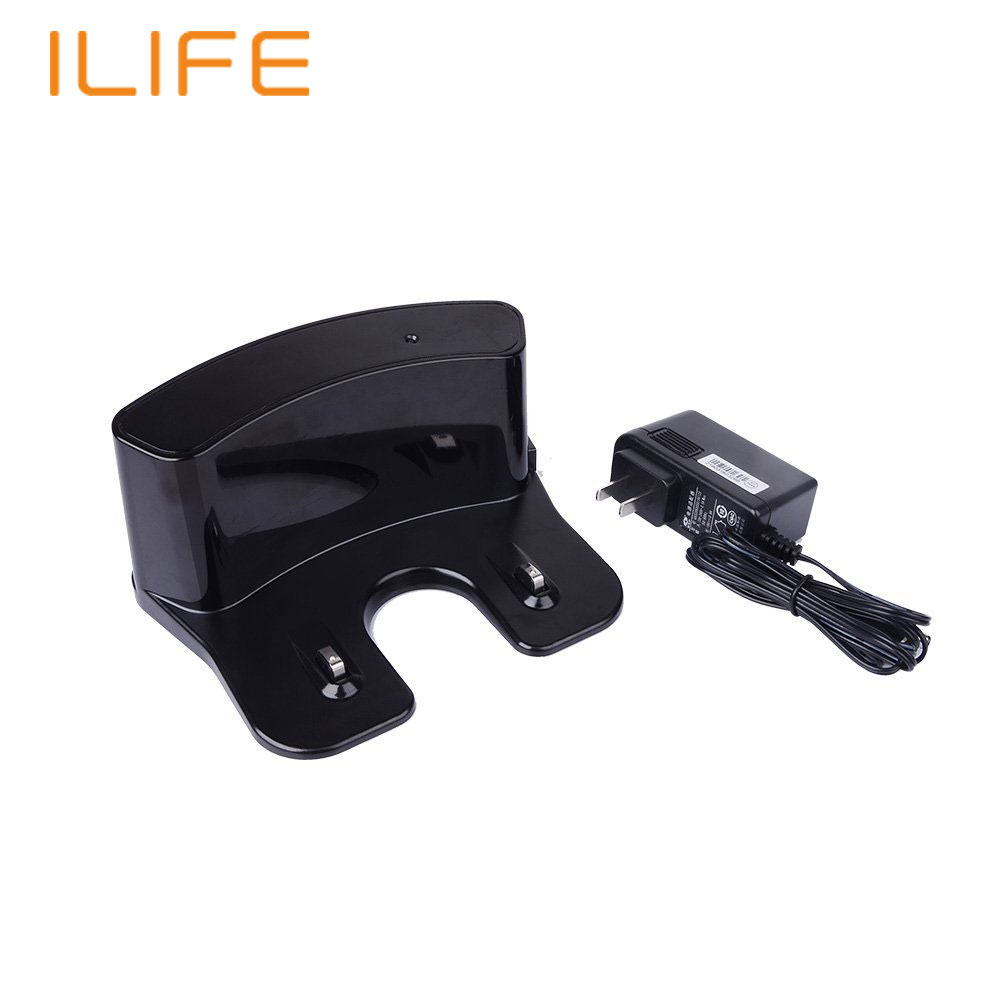 Home Base Charge Dock for ILIFE V3S V5S Robot Vacuum Cleaner Robotic Vacuum Cleaner Replacement Accessories Automatic Homne Dock puppyoo multifunctional robotic vacuum cleaner self charge sweep home collector suction led touch screen side brushes v m900r