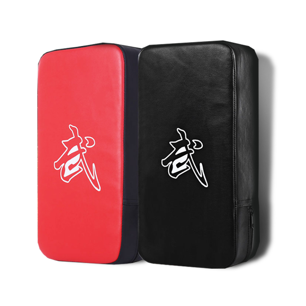 Red Black Rectangle Focus Boxing Kicking Strike Hand Foot Punching Pad Power Punch  Martial Arts Training Equipment Q