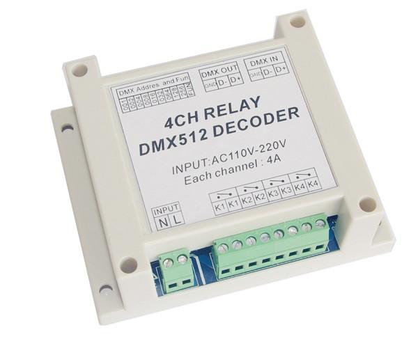 2016-new-high-quality-1-pcs-input-1AC110-220V-DMX-RELAY-4CH-dmx512-relays-decoder-controller