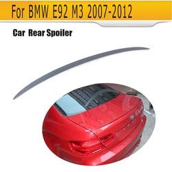 PU niemalowanej szary primmer Auto Car Spoiler skrzydło dla BMW E92 M3 2007 2012 w Spoilery i skrzydła od Samochody i motocykle na