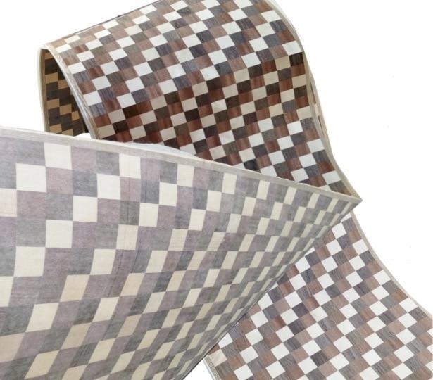2.5Meter/pcs   Width:40cm  three color spliced wood veneer skin2.5Meter/pcs   Width:40cm  three color spliced wood veneer skin