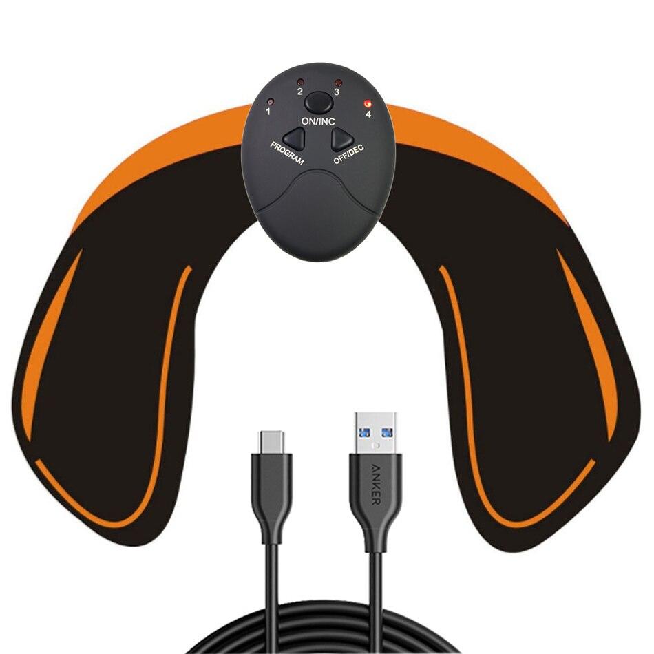 USB ladung EMS Hüften Trainer Muscle Hüfte Stimulator Butt Hilft, Um Form und Fest Gesäß Verschluss