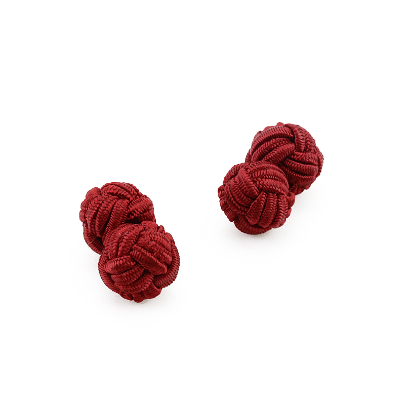Mdiger Silk Knot Cufflinks Upscale Men's Classic Double Rope Ball Knot Shape Cuff Links Handmade Silk Knots Cuff Link for Men брюки adidas брюки тренировочные adidas tiro17 pes pnt bq2619