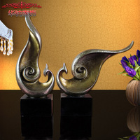 Home Furnishing Abstract Bird TV Cabinet Decoration Of High Grade Resin Craft Lovers Phoenix Wedding
