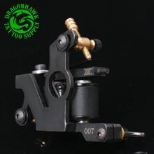 Professional Handmade Tattoo Machine  For Liner Shader Tattoo Gun New Design Black Color 10 Wrap Coils Tattoo Supply