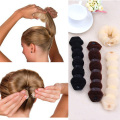 New Fashion Hair Tools Magic Quick Bun Make Hair Styling Long Headbands Women DIY Hairbands Girl Hair Bands Hair Accessories