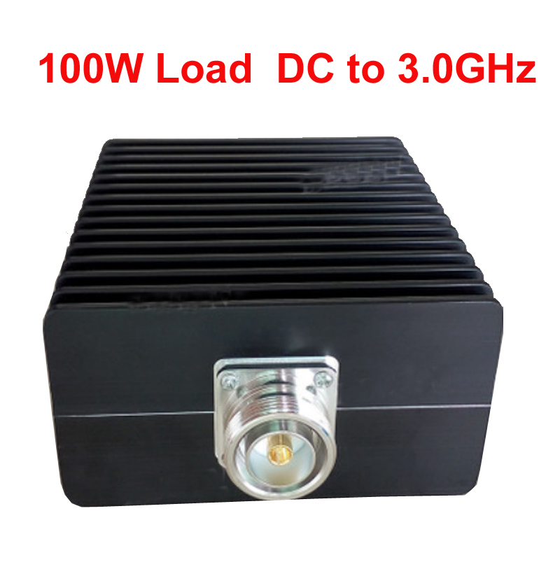 telecom RF load 100W 7/16 DIN female connector DC-3ghz feeder connector RF COAXIAL cable jack cable load Communication converter