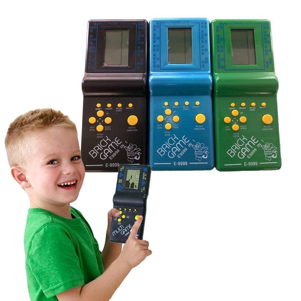 Pflichtbewusst Retro Klassische Elektronische Puzzle Spielzeug Tetris Spiel Kinder Pädagogisches Spielzeug Spieler Eingebaute 23 Spiele Ziegel Spiel Tanks Krieg