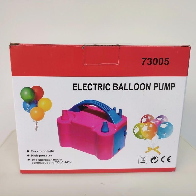 220-220V High Power Two Nozzle AC Inflatable Electric Balloon Pump Air Balloon Pump Air Blower Globos Inflator Pump Portable