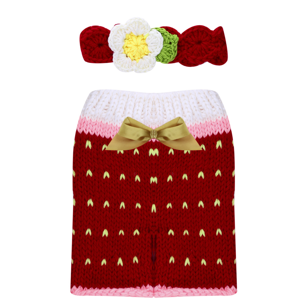 Newborn Photography Props Accessories Costume Handmade Crochet Knit Infant Beanie Hat and Pants Cute for Baby Newborn Fotografia