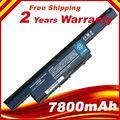 7800 mah batería para acer aspire aspire 5742g aspire 5750g 4560 4738 4739 4750 5750 5750g 7551 7551g as10d31 as10d61, AS10D71