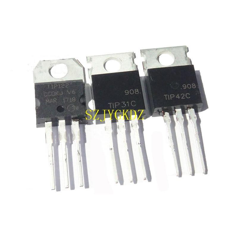 5 PCS TIP42C TIP42 PNP TRANSISTOR TO-220 100V 6A NEW