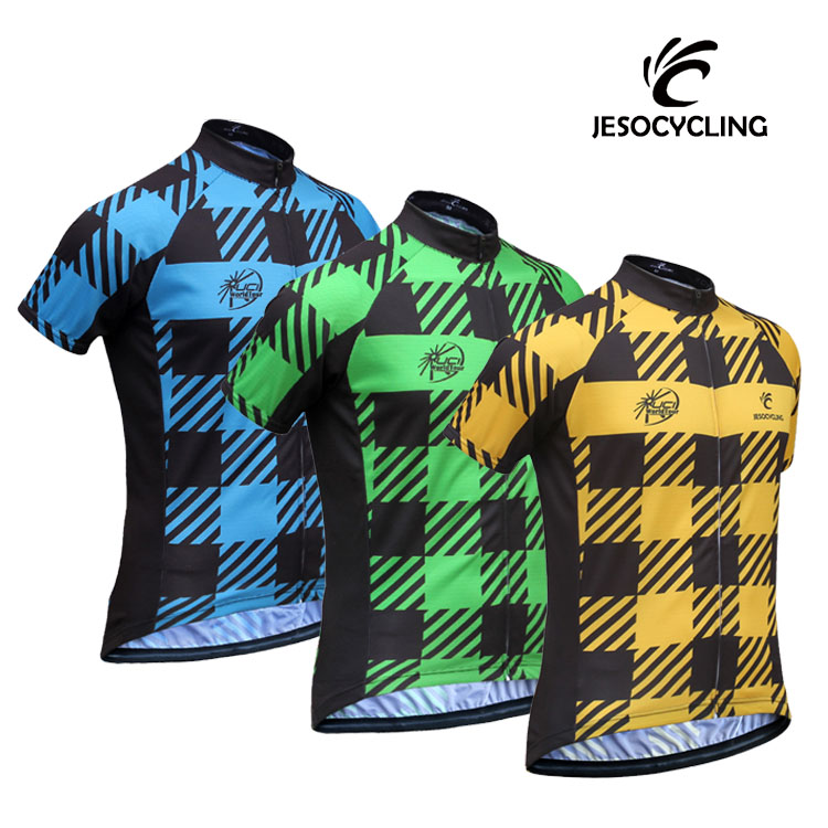 2017 Outdoor Sports Cycling Jersey Spring Summer Bike Bicycle Short Sleeves MTB Clothing Shirts Wear Bike Jersey 3 Colors