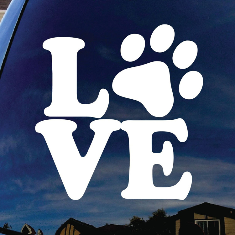 HOT 10pcs Love Stickers Decal Car Styling For vw Nissan JUKE audi ford bmw e46 Benz renault opel car accessories car styling