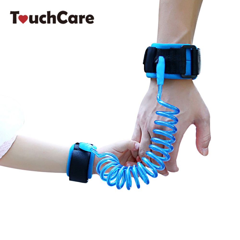 Adjustable Kids Safety Anti-lost Strap Wrist Link Walking Harness Bracelet Wristband Children Hand Belt Rope Length 1.5m/2m/2.5m
