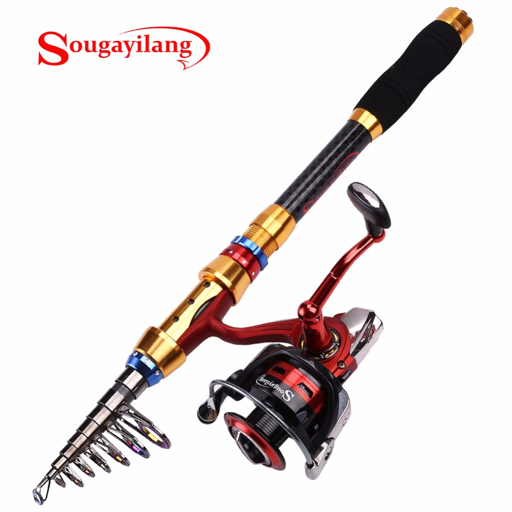 sougayilang 1 8 carp fishing rod with spinning reel