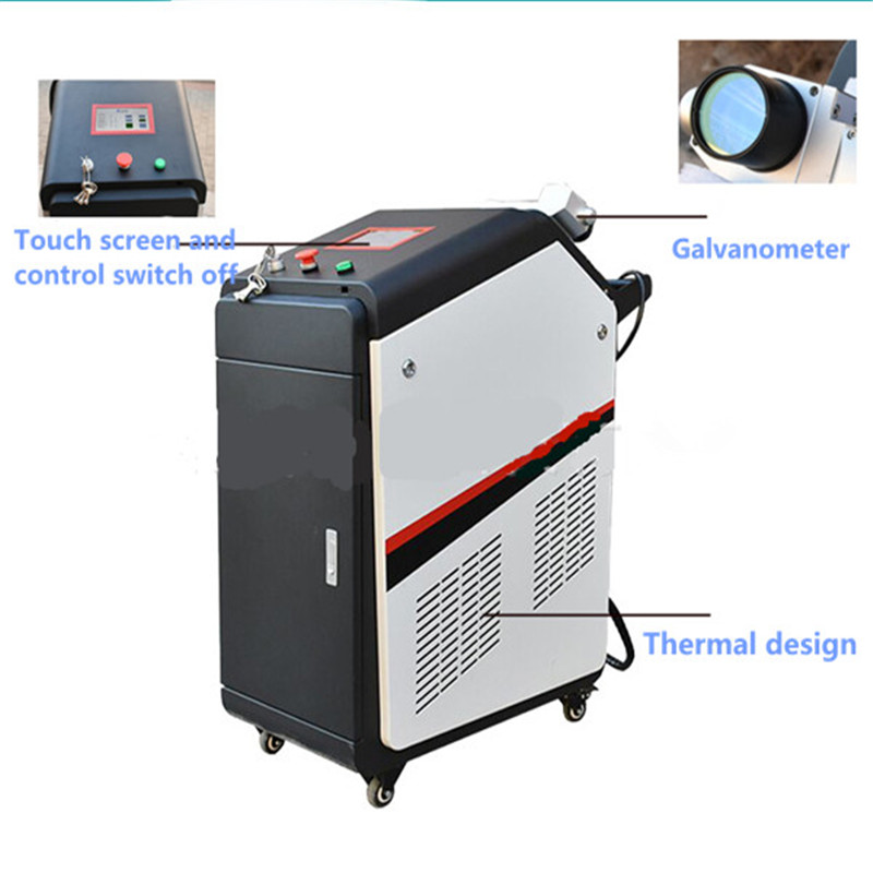 BCX high power excellent quality 200w 500w fiber laser cleaning machine for paint removal/laser rust removal