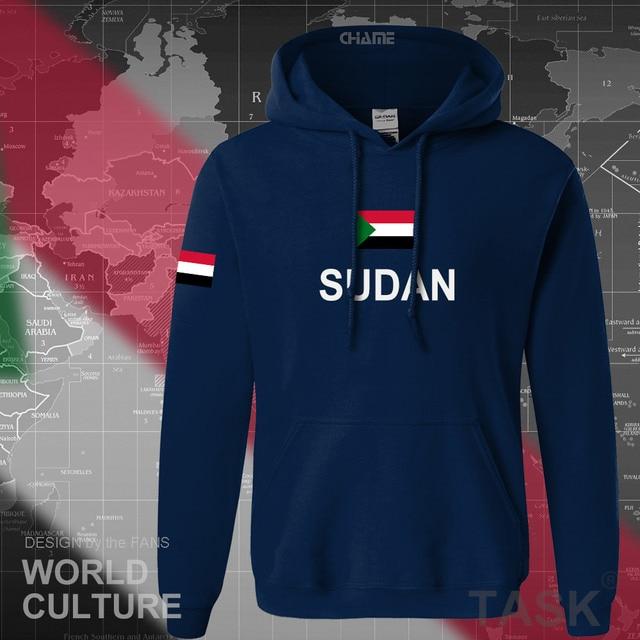 orth Sudan Sudanese hoodies men sweatshirt sweat new hip hop streetwear tracksuit nation footballer sporting country SDN Islam 1