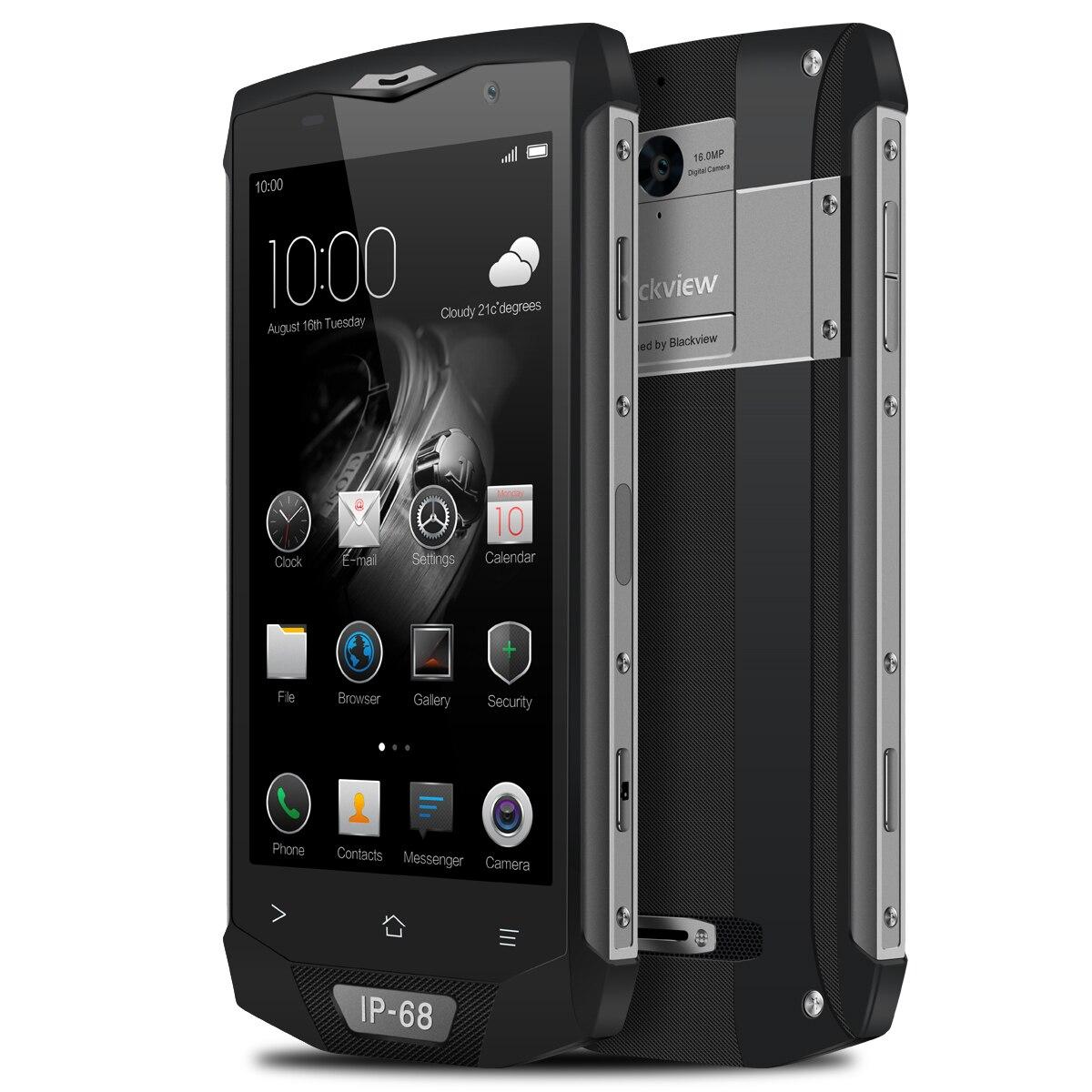 Blackview BV8000 Pro 5 pouces 4G Smartphone FHD étanche Charge rapide NFC téléphones portables octa core 6GB + 64GB empreinte digitale 16.0MP caméra - 5