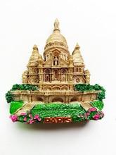 France Sacred Heart Cathedral Souvenir Fridge Magnet